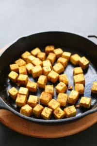 Pan Seared Tofu